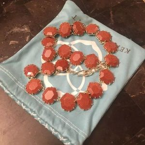 Kendra Scott Sam in goldstone EUC